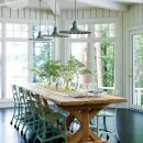 Cottage Dining Room - Indgrid Oomen via Style at Home | Photo by Michael Graydon