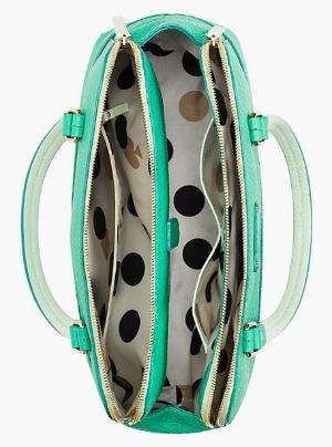 Kate Spade Handbag Polka Dot Lining