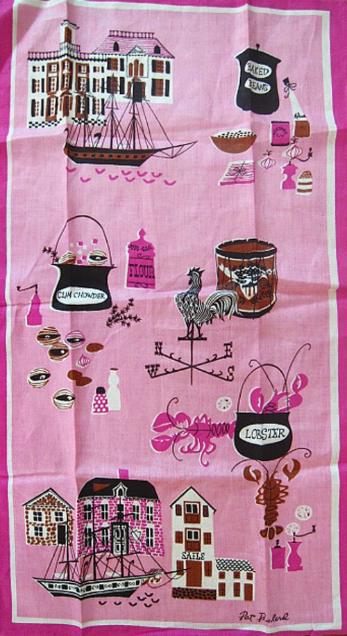 Pat Prichard Vintage Tea Towel - Jasper Goodwin Vintage on Etsy