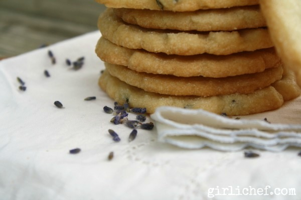 lavender shortbread cookies recipe - Girlichef