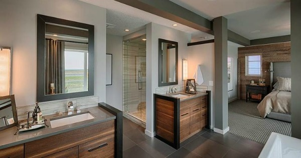A functional laundry room more showhome highlights for Master ensuite designs
