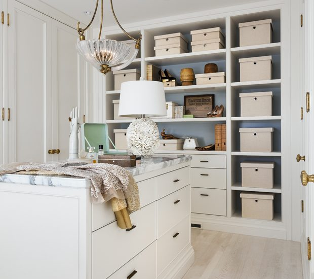 Organized Closet - Theresa Casey Design