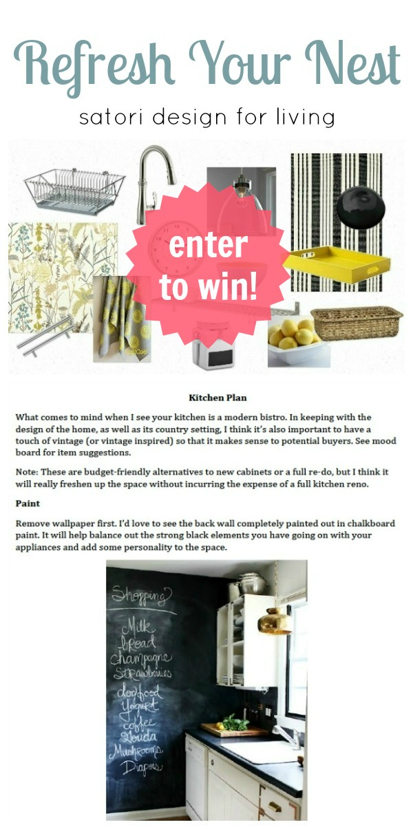 Satori Refresh Your Nest Blogiversary Prize Pack - Enter to Win!