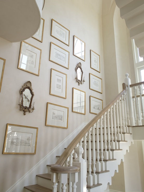 Marvelous Staircase Art Wall French   Phoebe Howard