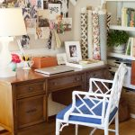 Amanda Teal Home Office Desk Du Jour