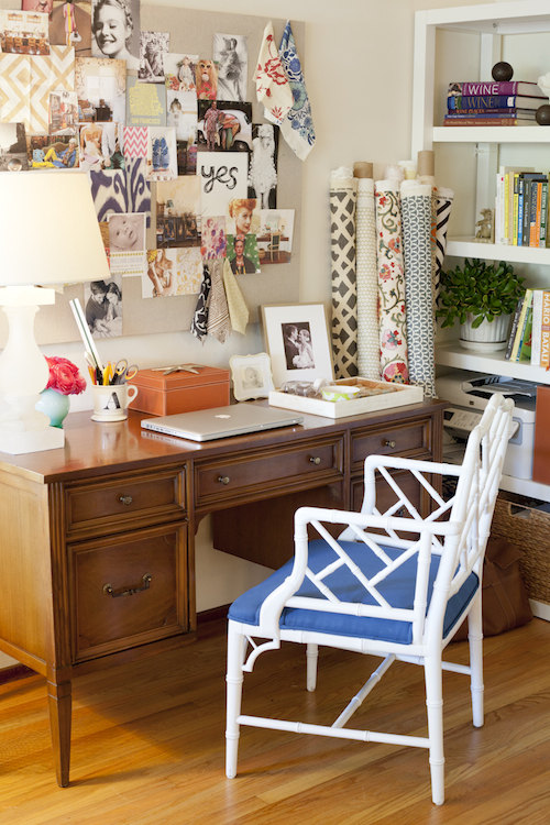 Lovely Inspiration Board - Amanda Teal Home Office