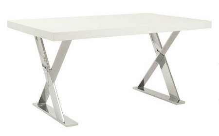 Designer Challenge Desk Two- Anika White Laquer Desk
