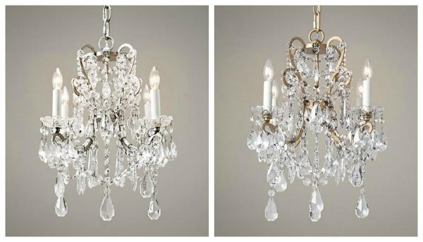 Manor Court Chandelier- RH Baby & Child