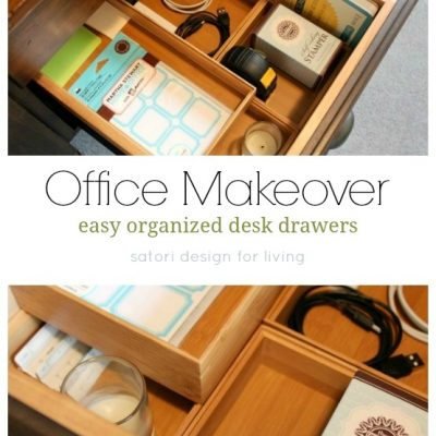 One Room Challenge Office Makeover {Week Two}