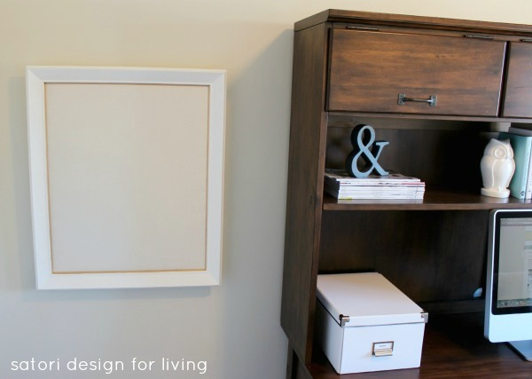 DIY Fabric Pinboard - Satori Design for Living