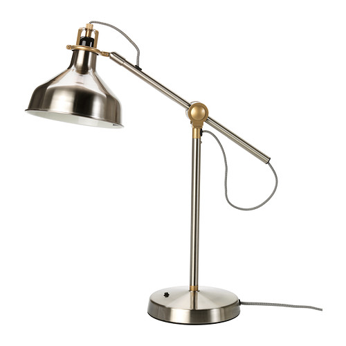RANARP Nickel Work Lamp - IKEA