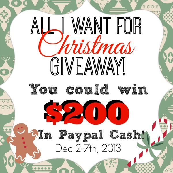 $200 Paypal Christmas Giveaway