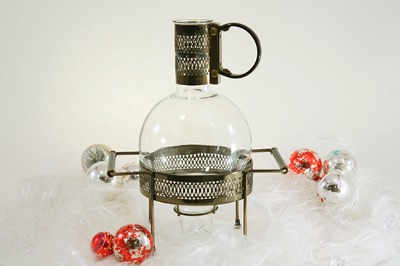 Art Deco Carafe Warmer Stand - Audrey Would!