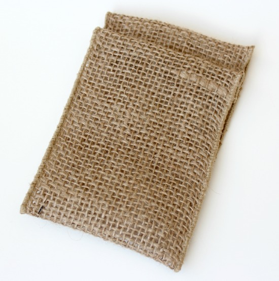 Burlap Table Favor for Christmas | Satori Design for Living