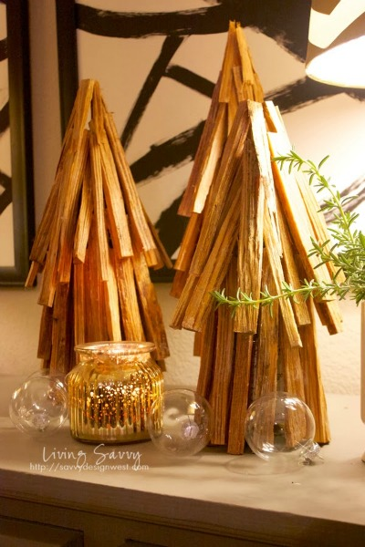 DIY Stick Trees