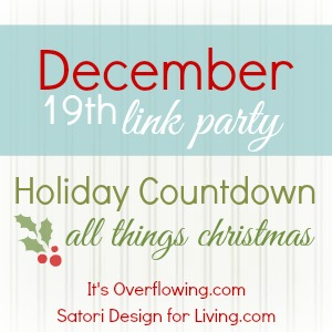December All Thing Christmas Link Party
