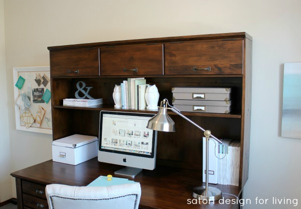 Office Makeover - One Room Challenge Finale - Satori Design for Living