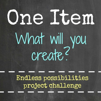 One Item Project Challenge - DIY Series Hosted by Satori Design for Living