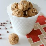 No Bake Chocolate Chip Peanut Butter Energy Bites - Satori Design for Living