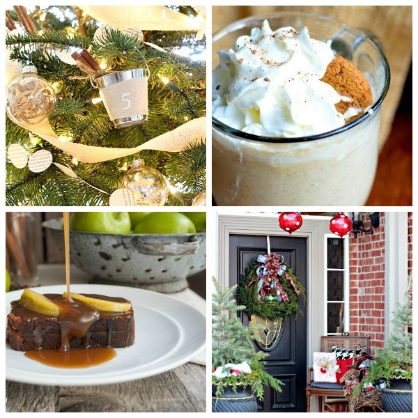 All Things Christmas- December Link Party Features- satoridesignforliving.com