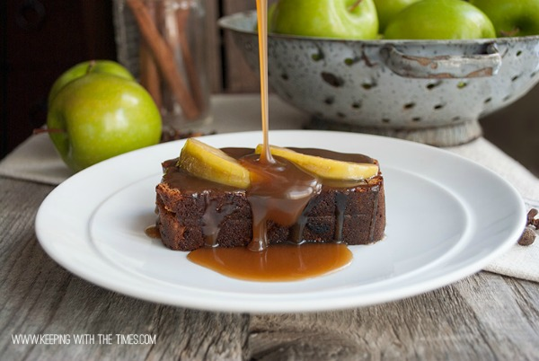 All Things Christmas- Gingerbread with Caramel Sauce- Keeping With the Times