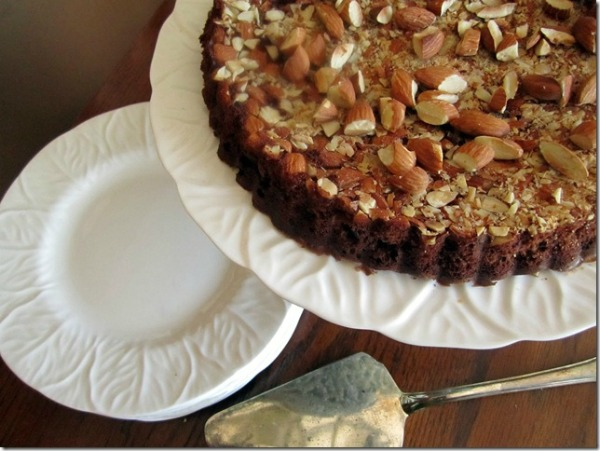 All Things Christmas- Gluten Free Chocolate Almond Tart- In Fine Balance