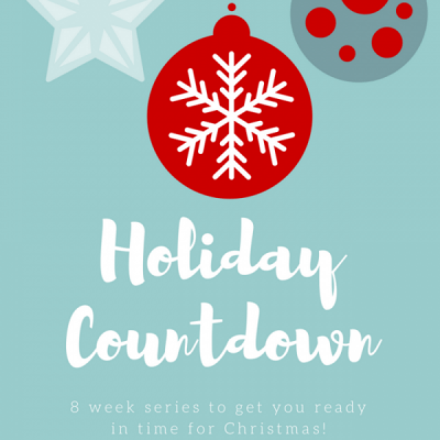 Whether you love the Christmas season or it stresses you out, this Holiday Countdown series is for you. Come find out what it's all about!