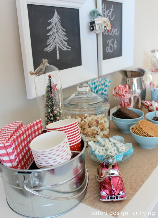 Hot Chocolate Bar | Satori Design for Living
