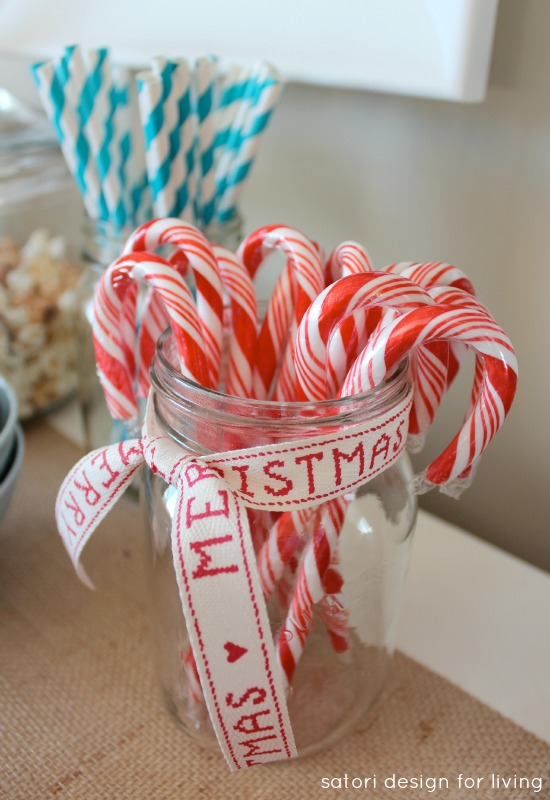 Hot Chocolate Bar | Peppermint Candy Canes | Satori Design for Living