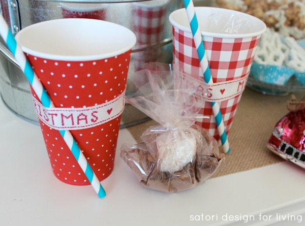 Hot Chocolate Bar | Hot Chocolate To Go Cups | Satori Design for Living