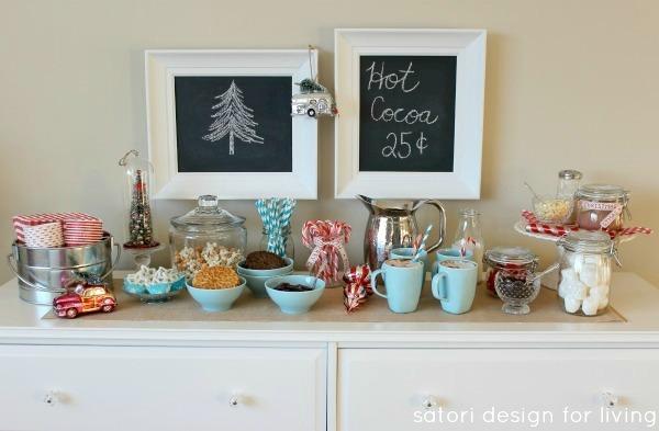 Nostalgic Hot Cocoa Station | Satori Design for Living