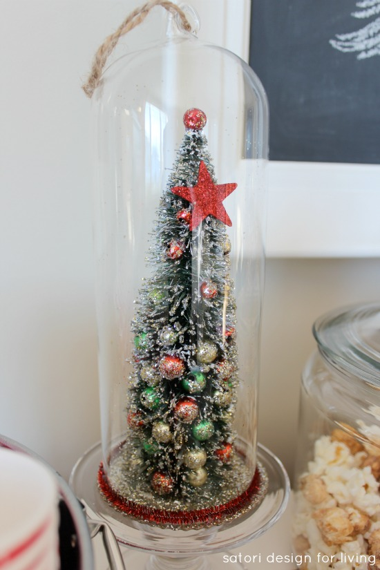 Christmas Tree Cloche Ornament | Satori Design for Living