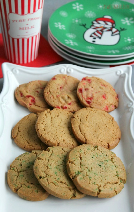 All Things Christmas- Ice Box Cookies- A Sweet Baker