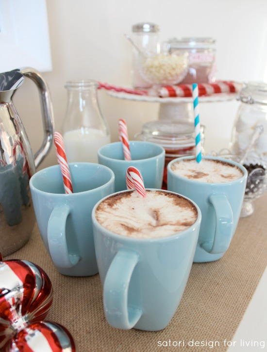 Nostalgic Hot Cocoa Station | Satori Design for Living