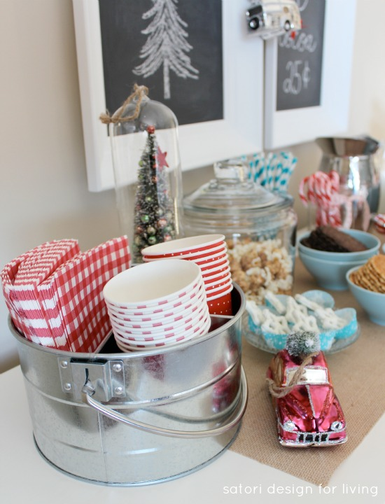Nostalgic Hot Cocoa Station for Holiday Entertaining