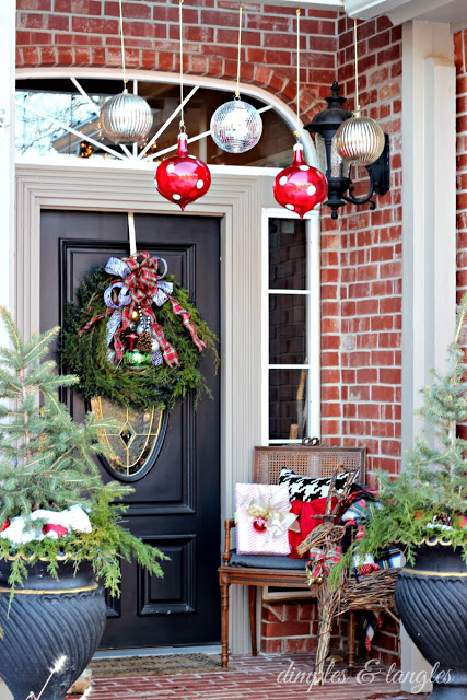 All Things Christmas- Christmas House Tour- Dimples and Tangles