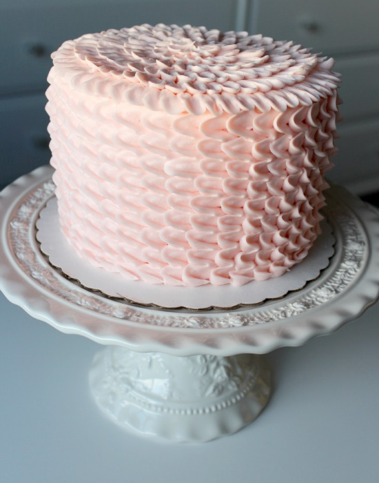 Pink Birthday Cake from Crave