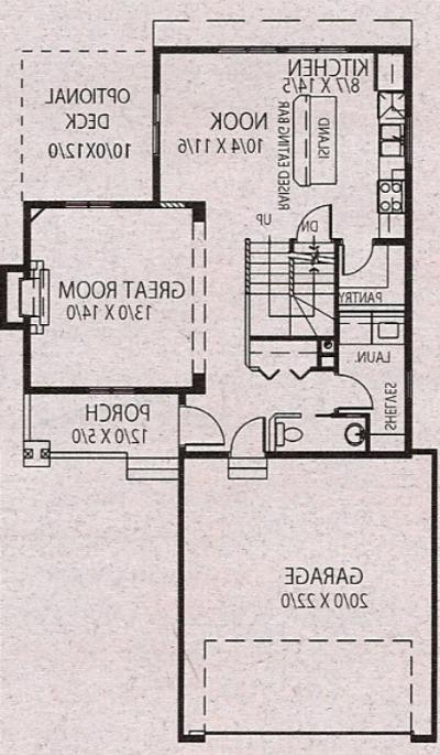 Our House Plan - Main Floor