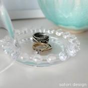 Repurposed Jewelry Cloche