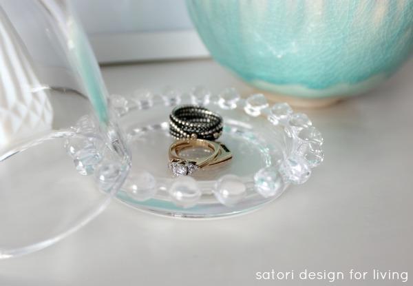 Repurposed Jewelry Cloche | Satori Design for Living