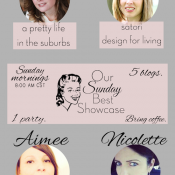 Our Sunday Best Showcase link party - every sunday at 8am CST - Satori Design for Living