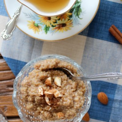 A round up of our own family favourite fall inspired recipes you definitely need to try, starting with this Coconut Quinoa Breakfast Pudding. Get the full list at SatoriDesignforLiving.com
