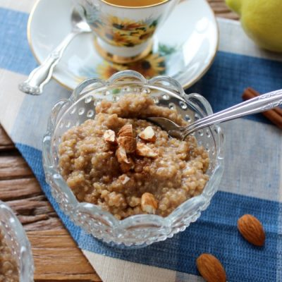 Coconut Quinoa Breakfast Pudding | Satori Design for Living