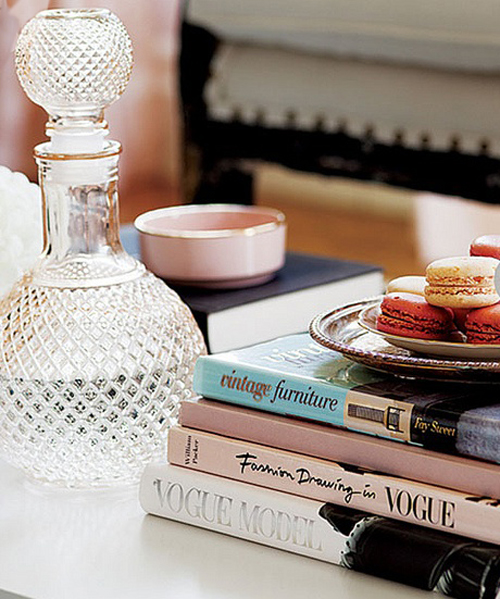 Styled Coffee Table by Tara Ballantyne via Style at Home - Donna Griffith Photography