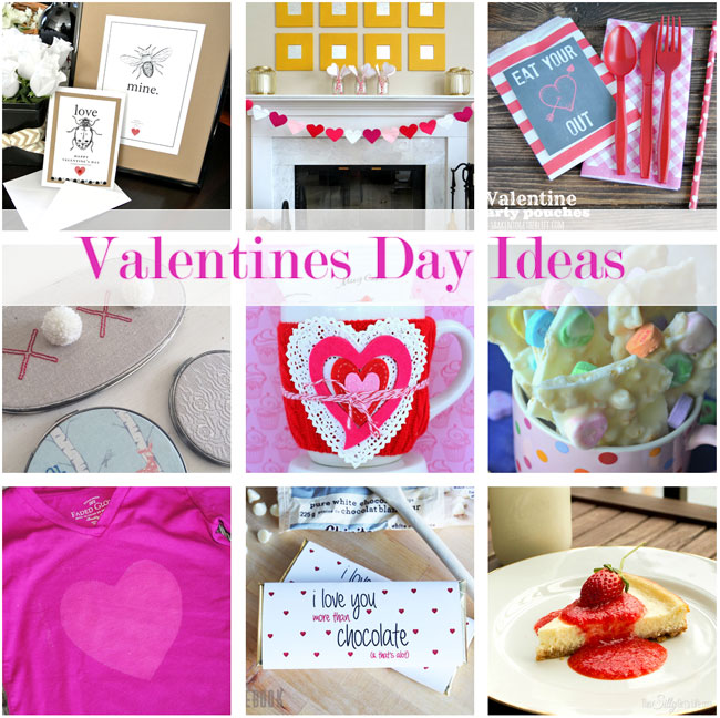Valentine Gift Idea 2 Home Decor Frame Layout: Our Sunday Best Showcase- Link Party #2
