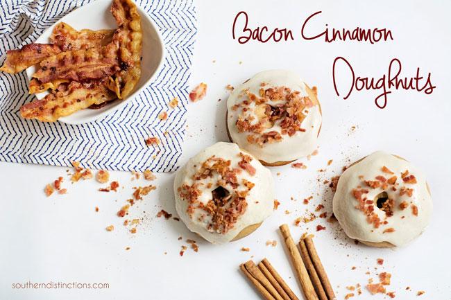 Bacon Cinnamon Doughnuts