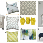 Designer Challenge: Which Sofa? {Part One}