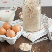 Homemade Whole Grain Pancake Mix- Tracey's Culinary Adventures