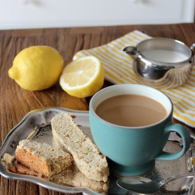 Lemon Poppyseed Biscotti Recipe - Satori Design for Living