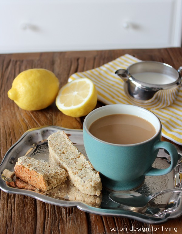 Lemon Poppyseed Biscotti Recipe